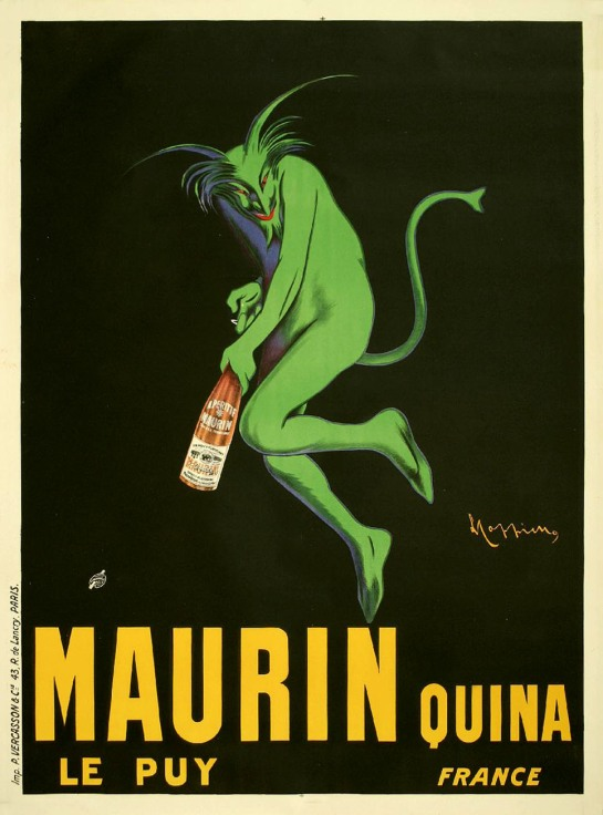 Maurin Quina Cappiello Vintage Posters