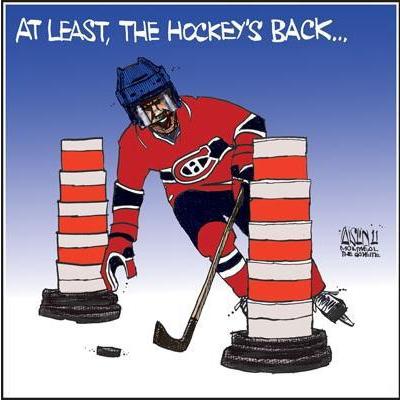 Aislin Hockey The Gazette