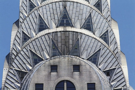 art deco architecture chrysler building