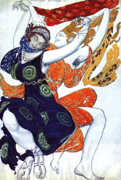 Ballet Rusee 1920s