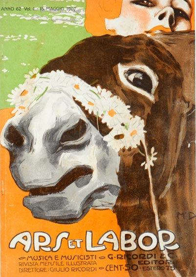 Art Nouveau Art Deco Horse Animal Vintage Posters
