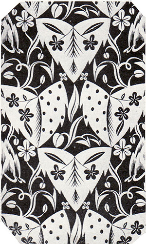 Black and white art deco patterns and wallpaper