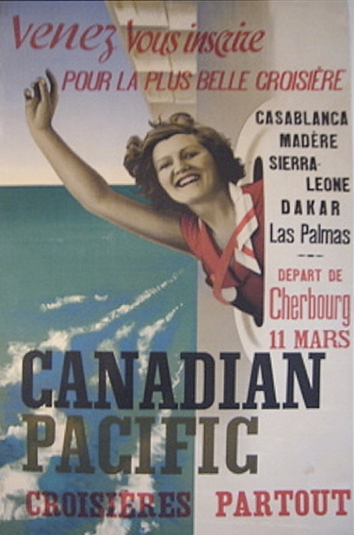 Canadian Pacific Cruise Line Poster