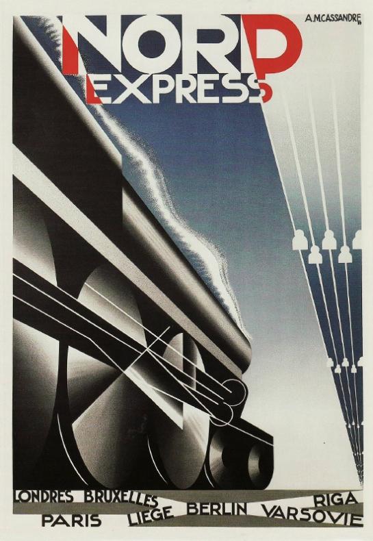 Cassandre Art Vintage Poster 1920s