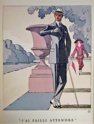 Gazette du bon ton Art Deco Vintage 1920s