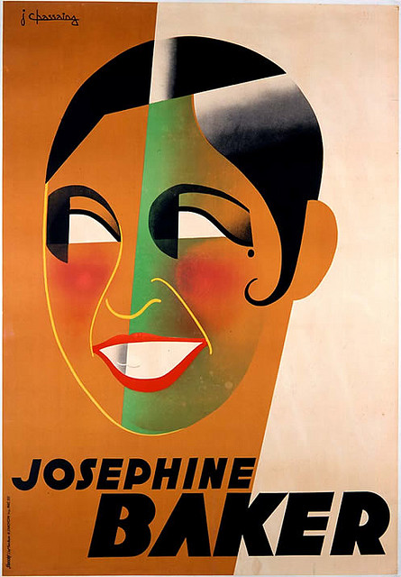 Josephine Baker France Vintage Posters Cabaret Night Club Acts