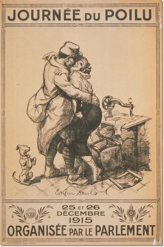 Journee du Poilu Willette Vintage Poster