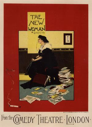 The New Woman - Maitres de L'Affiche series
