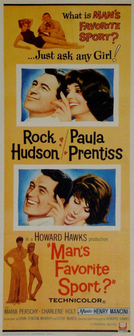 Vintage Movie Posters - Rock Hudson