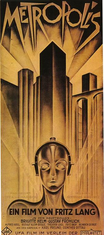 Metropolis Fritz Lang Movie Poster