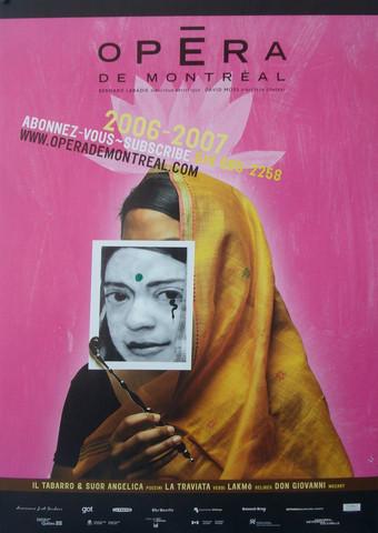 Opera de Montreal Posters - Montreal Opera