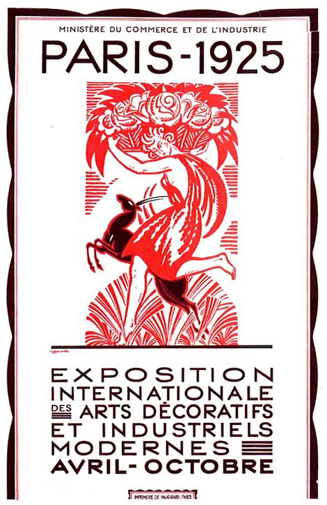Art Deco Exposition Paris 1925