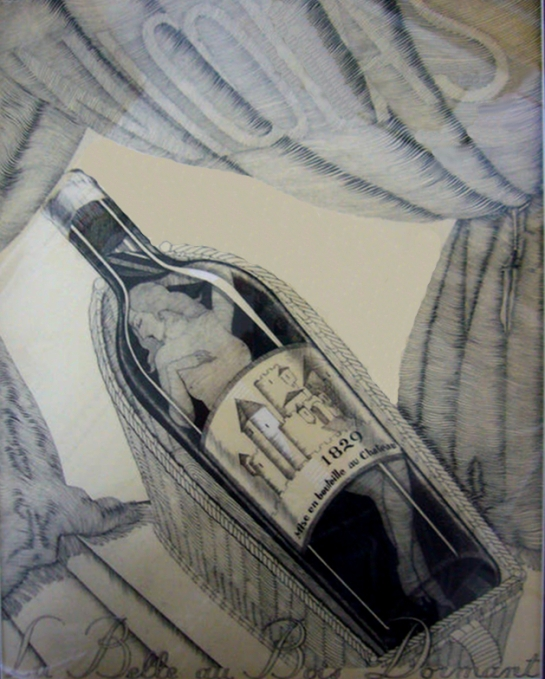 Vin Nicolas vintage print Paul Iribe