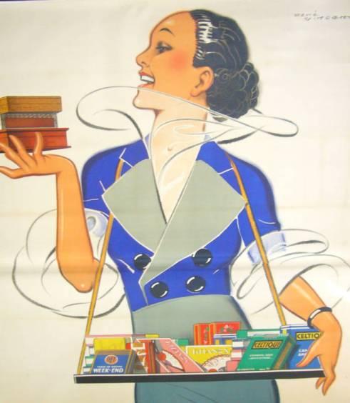 Regie Francaise Vintage Cigarette Posters
