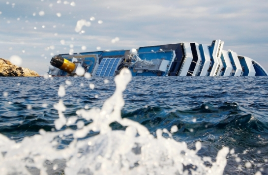 Concordia cruise ship sinking Italy