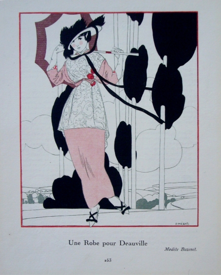Gazette du bon ton 1920s Fashion Art Deco