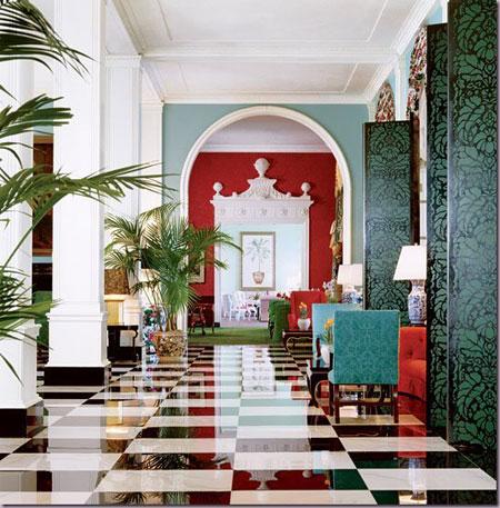 Greenbrier Hotel by Dorothy Draper