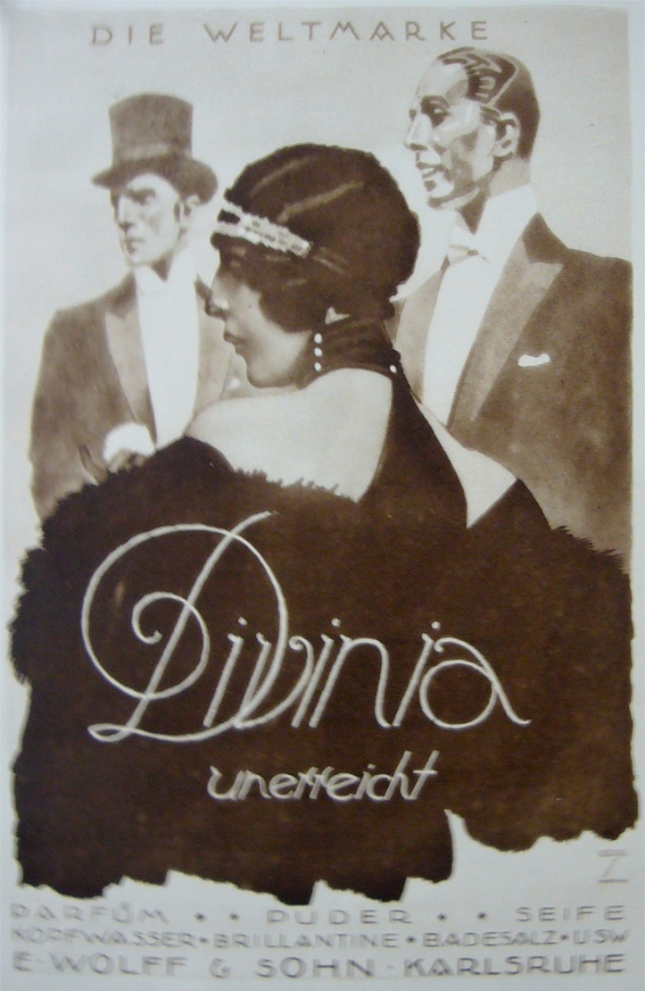 Divinia 1920s Hohlwein Art Deco Fashion