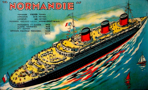 ss normandie cruise liner