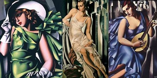 Tamara de Lempicka Art Deco Artist