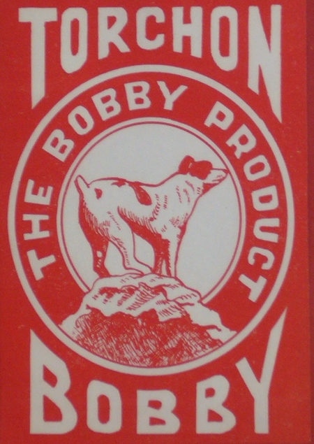 Torchon The Bobby Product Label