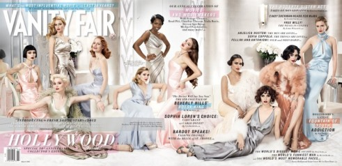 Vanity Fair Cover feb 2012 Hollywood Issue