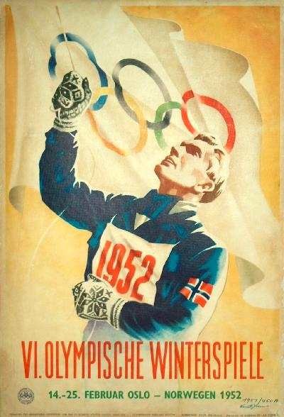 Vintage Olympic Posters London And A Treasure Hunt