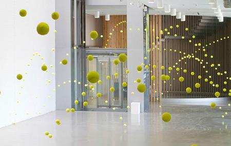 Ana Soler installation - Causa Efecto