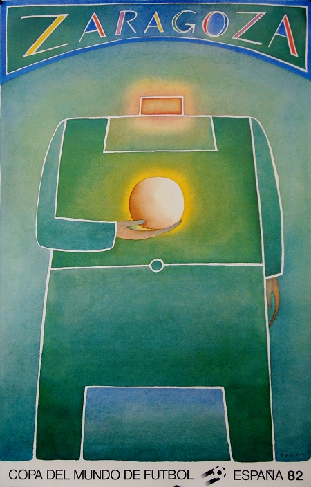 Soccer World Cup 1982 Vintage Poster