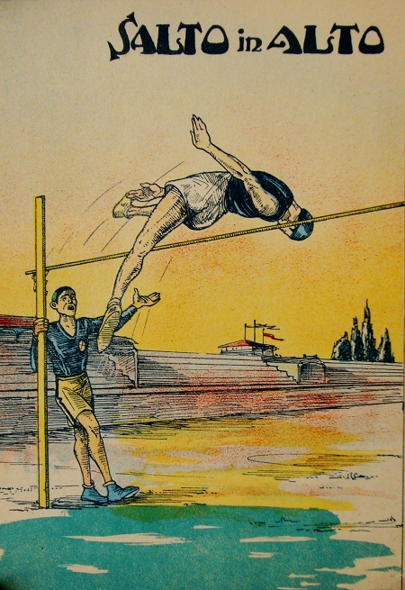 italian-high-jump-illustration-salto-in-alto-vintage-poster