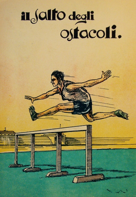Italian Long Jump Illustration
