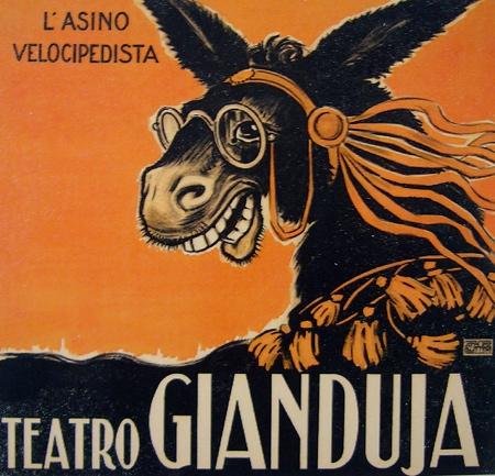 Teatro Gianduja Donkey Poster