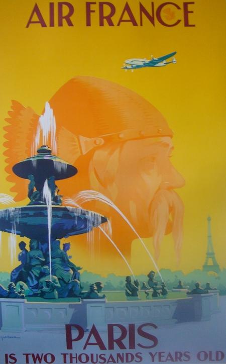Air France Travel Poster