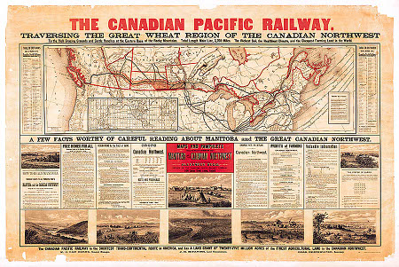 Canadian Pacific -map