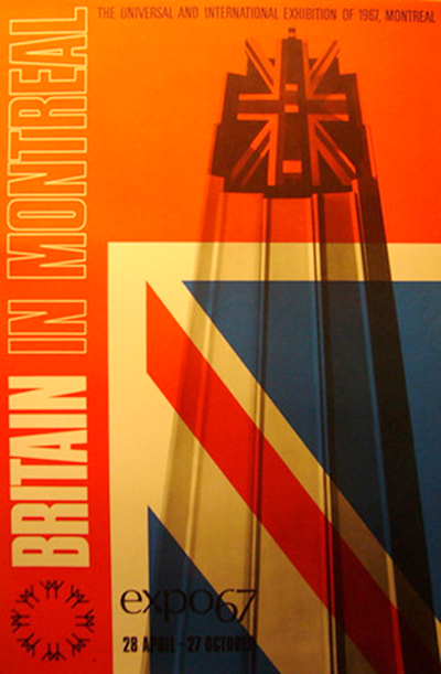 Montreal Expo 67 Poster