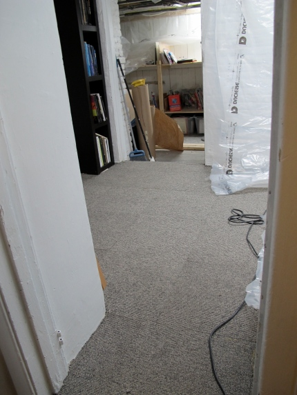 Our basement office - after