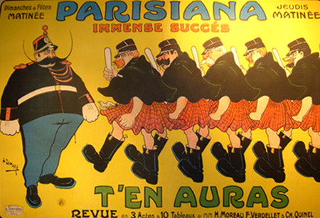 Parisiana T'en Aura, 1903 - Damare
