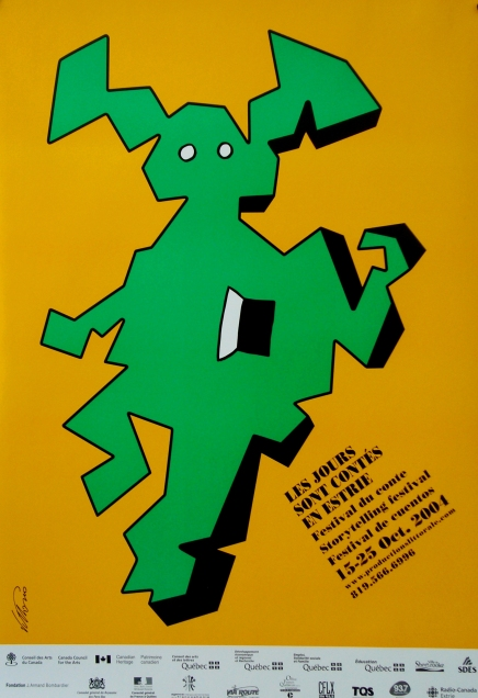 Quebec Storytelling Festival (2004) - Vittorio