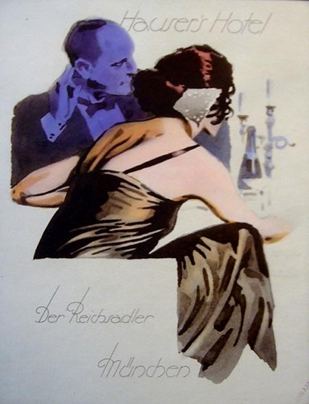 Hohlwein-Hausers hotel 1920s