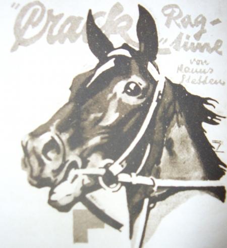 Horse Crack Rag Time - Hohlwein 1920s