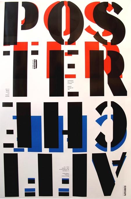 25th Anniversary Poster PUBLICITE SAUVAGE - DAWSON COLLEGE