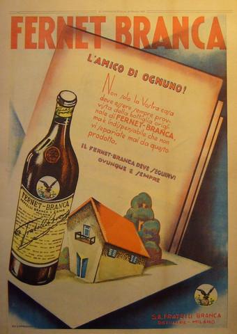Frenet Branca, Il Popolo d'Italia - Da Cappadonia
