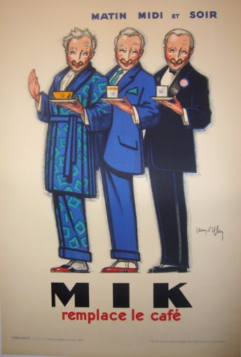 Original 1922 Art Deco French Poster Mik - D'Ylen