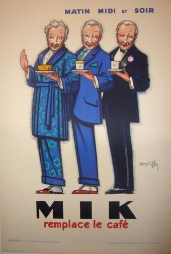 Original 1922 Art Deco French Poster Mik - D'Ylen