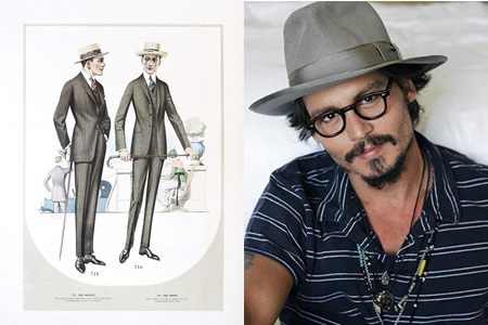 Men in Hats / Johnny Depp