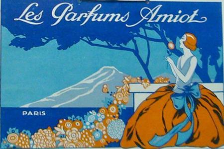 1930s French Art Deco - Les Parfums Amiot