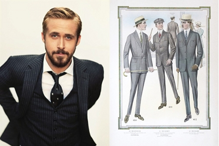Men in suits - 1915 men's fashion