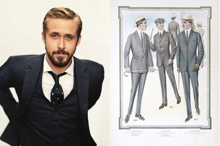 Men in suits - 1915 men's fashion