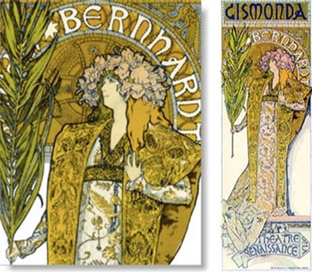 Mucha - Sarah Bernhardt