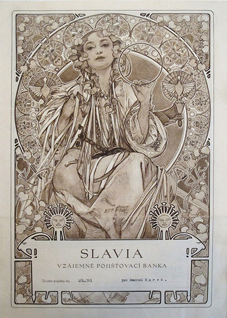 Mucha - Czech Bank note